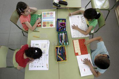 A mediados del año 2000 empezó el auge de los centros con enseñanza bilingüe.