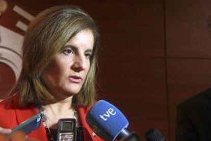 La ministra de Empleo y Seguridad Social, Fátima Báñez. EFE/Archivo