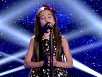 Melani, ganadora de 'La Voz Kids 4'.