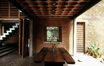 Uno de los proyectos arquitectónicos que se exponen en la Fundación ICO.