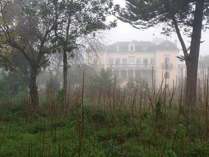 El fantasmal palacio de las Águilas, en la calle Junqueira.