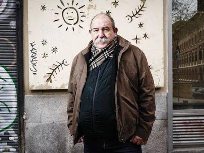 El dibujante cubano Juan Padrón, retratado en Madrid.