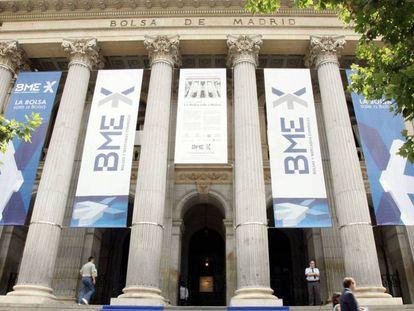 Palacio de la Bolsa de Madrid, sede de BME.
