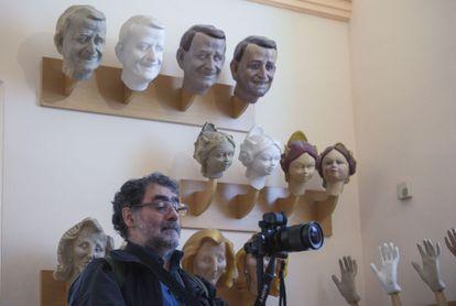El fotógrafo Joan Fontcuberta, en el Museo Fallero, el pasado miércoles.