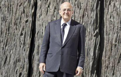 Plácido Arango, en 2007, tras su nombramiento como presidente del patronato del Museo del Prado.