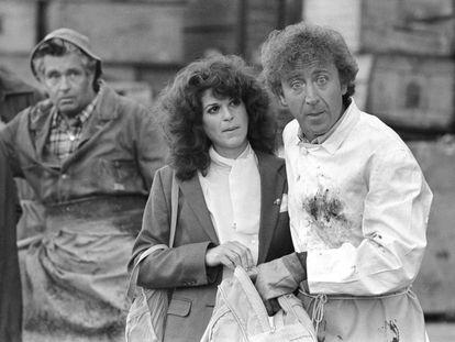 Gilda Radner y Gene Wilder en un fotograma de la película 'Hanky Panky', dirigida por Sidney Poitier.