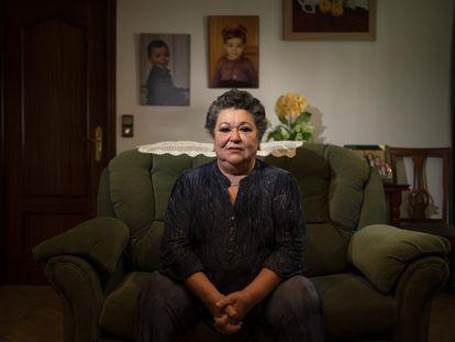 Carmen Anguita, victima de una ataque terrorista en 1963.