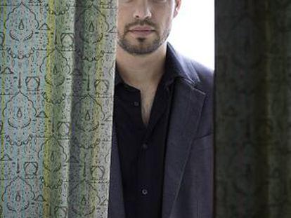 David Victori, retratado ayer en una suite del hotel Excelsior de Venecia.