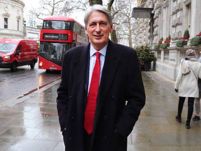 Philip Hammond, en Londres.