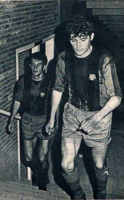 Martí Filosia,en su época en el Barça.