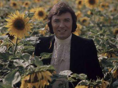 El cantante checo Karel Gott en 1969.