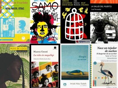 Selección de obras literarias africanas publicadas en 2020.