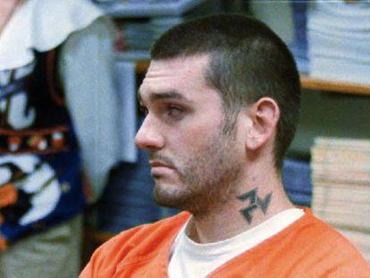 Daniel Lewis Lee, ejecutado este martes por un triple asesinato, durante una vista en Arkansas, en 1997.