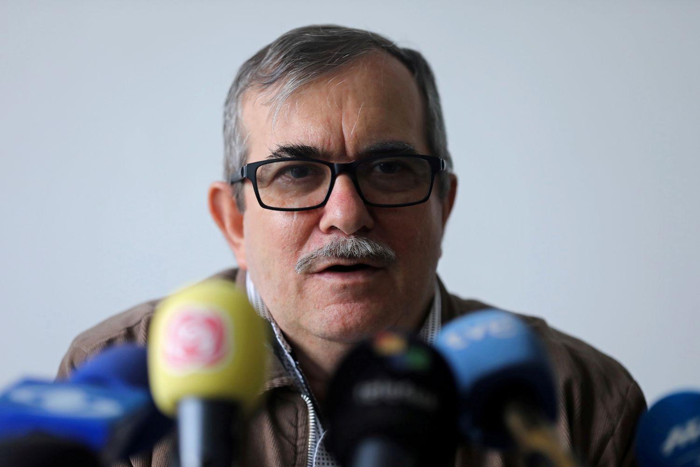 Rodrigo Londoño, excomandate de las FARC, en una imagen de archivo.