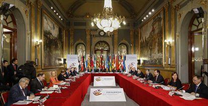 Reunión de la VI Conferencia de Presidentes.