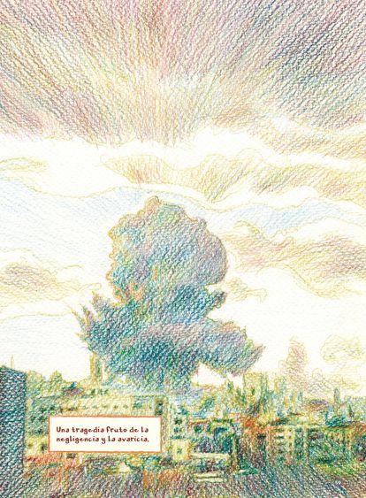 Cartoon from 'Pandemic' (Flow Press), by Yazan al-Saadi and Omar Khouri.
