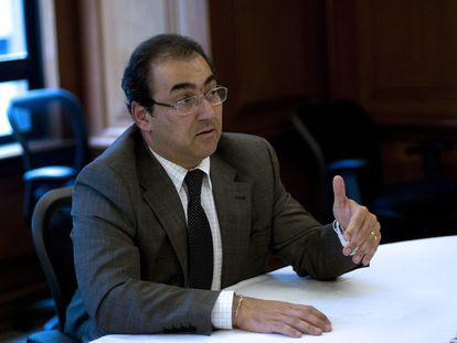El nuevo presidente de la CAF, Sergio Diaz-Granados, en una foto de archivo.