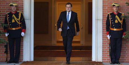 Mariano Rajoy en el Palacio de la Moncloa el pasado 28 de noviembre.