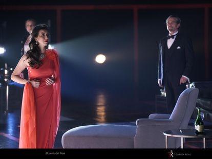 Lisette Oropesa en 'La traviata', en el Teatro Real.