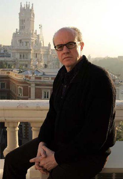 El periodista Héctor Feliciano, en Madrid.
