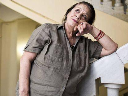 La actriz Terele Pavez, en el Circulo de Bellas Artes, de Madrid.