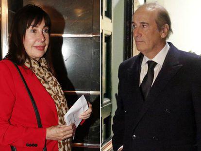 Carmen Martínez-Bordiú y Francis Franco.