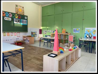Aula de Educación Infantil del C.P. San Benito.
