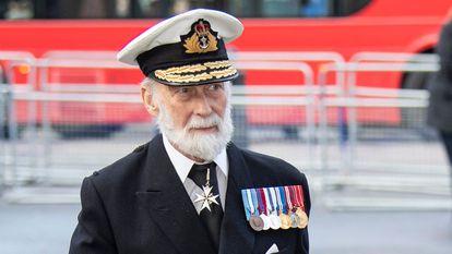 El príncipe Michael de Kent en diciembre de 2019 en Londres.