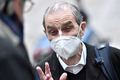 El exjefe de ETA José Antonio Urrutikoetxea, 'Josu Ternera', a su llegada el pasado 22 de febrero al Tribunal de Apelación de París.