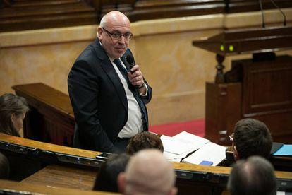 El consejero de Empresa y Conocimiento, Jordi Baiget.