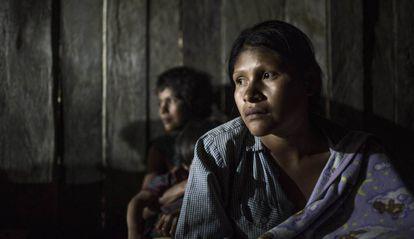 Mujeres shuar, una de las 14 nacionalidades indígenas reconocidas en Ecuador.