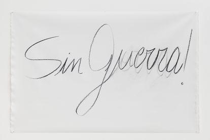 'Sin Guerra', 2016.