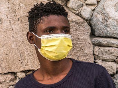 Prince, nombre ficticio del chico nigeriano de 14 años que vive en un centro de acogida de Canarias.