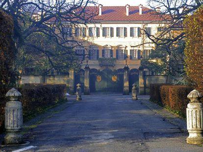 Villa San Martino en Arcore, propiedad de Berlusconi.