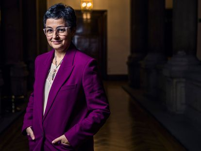 La ministra de Asuntos Exteriores, Arancha González Laya, en una imagen de mayo pasado.
