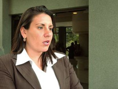 Karina Bolaños, exviceministra costarricense.