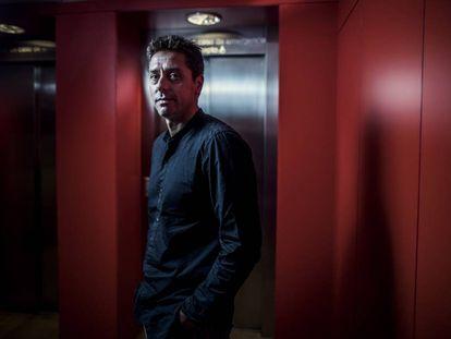 El escritor Pablo Gutiérrez, en el hotel de Las Letras.