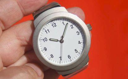 Un reloj.