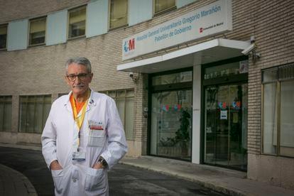 José Eugenio Guerrero, jefe de UCI del hospital Gregorio Marañón.