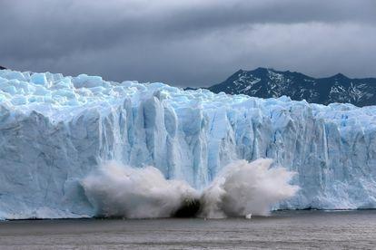 Glaciar del Perito Moreno, en Argentina.