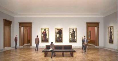 Otra imagen del proyecto de ampliación del museo Frick.