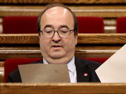 ERC y Junts per Catalunya impiden la designación como senador del líder del PSC