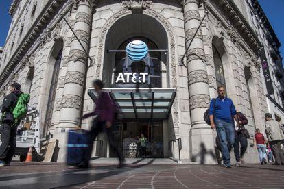La tienda principal de la empresa estadounidense AT&T en San Francisco, California.