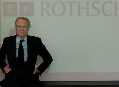Eric de Rothschild, uno de los miembros más destacados de la familia.