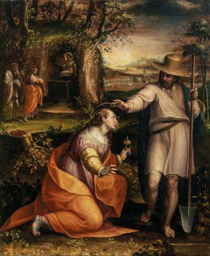 'Noli me tangere', Lavinia Fontana,1581