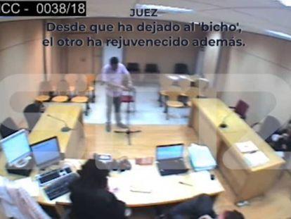 Captura del vídeo de la cadena SER.