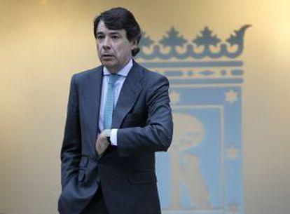 Ignacio González, vicepresidente de la Comunidad de Madrid y mano derecha de Esperanza Aguirre, en una imagen reciente.