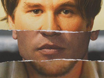 Imagen publicitaria de 'Val', el documental que Amazon estrenará sobre la vida del controvertido actor Val Kilmer.