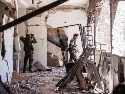 En el mes y medio de ofensiva, las tropas regulares sirias han recuperado el 95% de lo que dos semanas atrás fuera el mayor cerco insurrecto en el corazón del país
