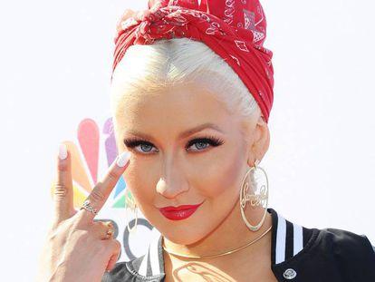 La cantante Christina Aguilera el pasado abril en Los Ángeles.